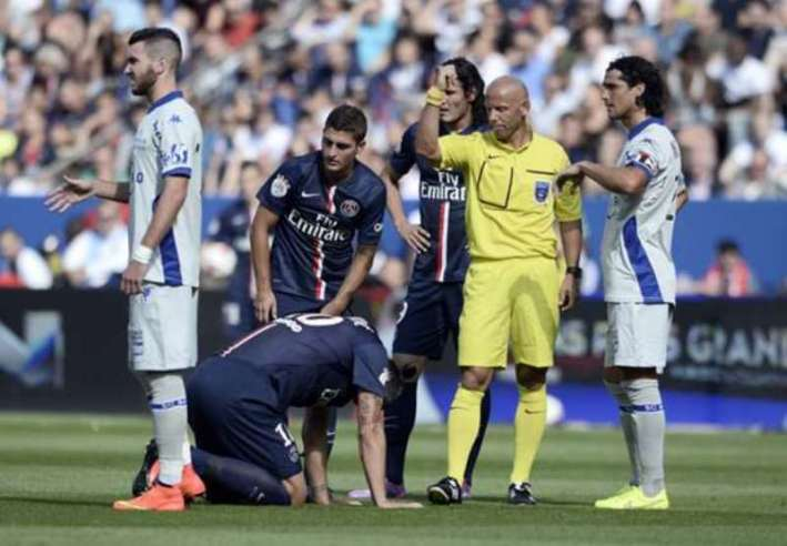 Ibrahimovic blessé