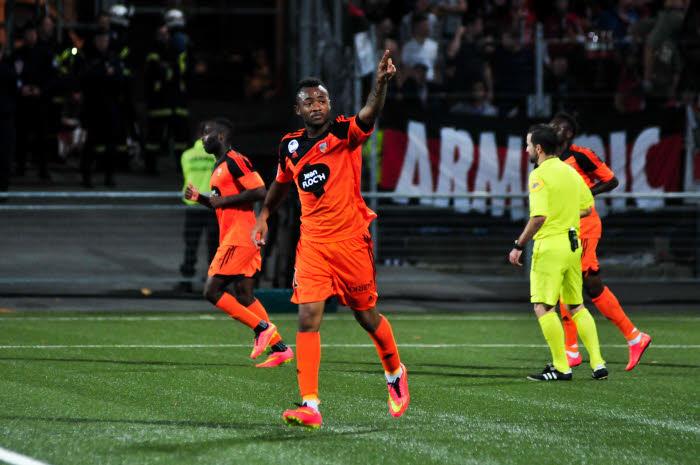 Jordan Ayew Lorient
