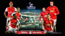 Premier League -Arsenal-Manchester United