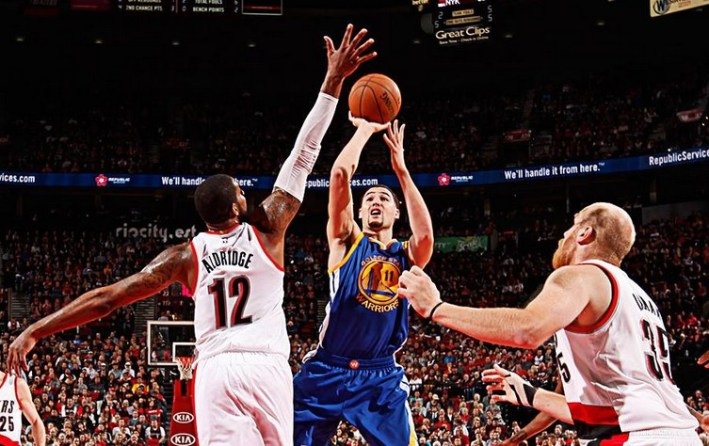 klay thompson_portland-golden state