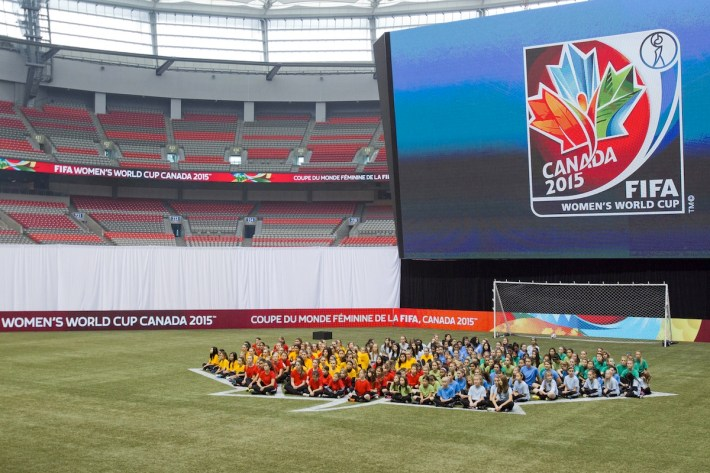 FIFA Women's World Cup Canada 2015 Official Emblem Launch