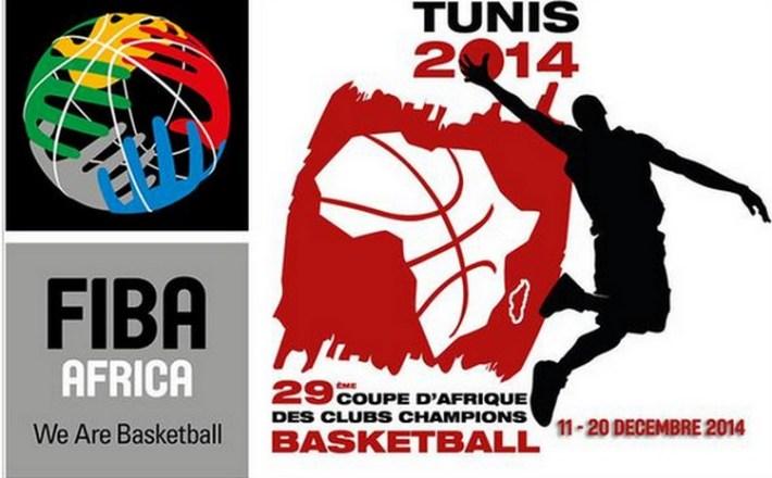 logo 29e coupe des clubs chammpions de basket masculin de fiba-afrique