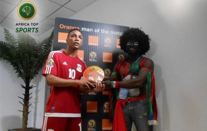 emilio nsue_homme du match burkina-guinee equatoriale