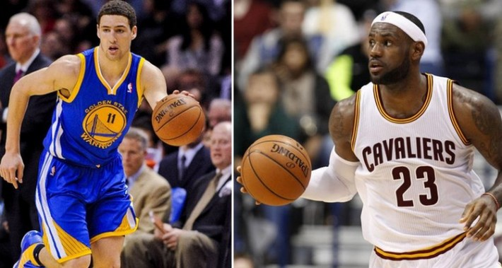 klay thompson_lebron james