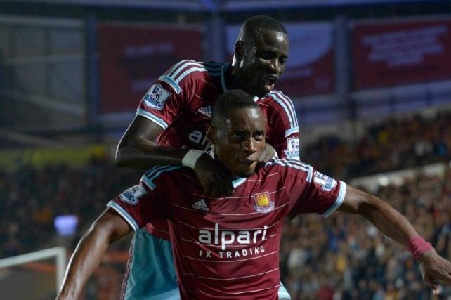 West Ham-Diafra Sakho-Cheikhou Kouyaté