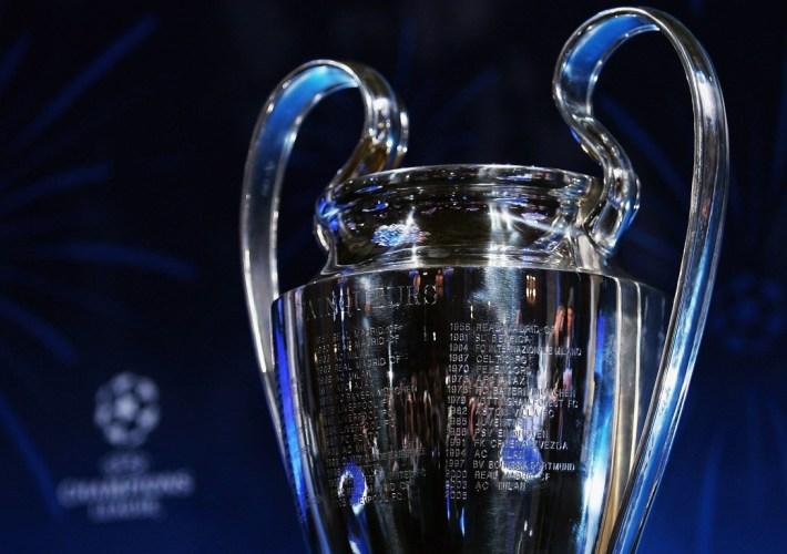 UEFA Champions League Trophy Handover & Draw