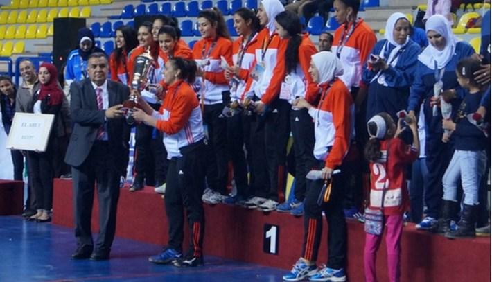 al ahly vainqueur du championnat d'afrique des clubs de volleyball féminin 2015