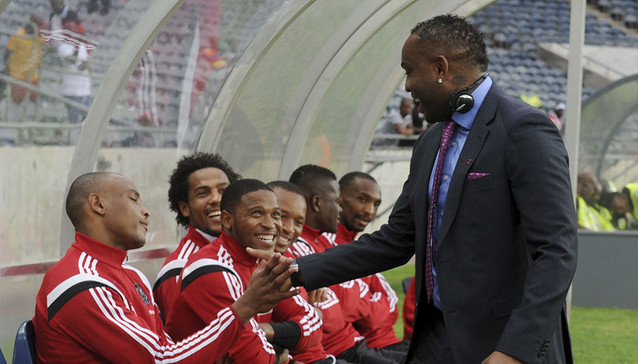 Football - 2015 CAF Confederations Cup - Orlando Pirates v URA - Orlando Stadium