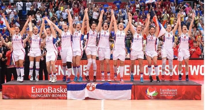 serbie championne d'europe 2015 de basket