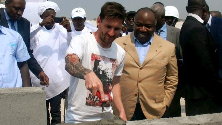 Messi gabon argent