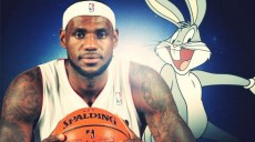 lebron james singe avec warner bros