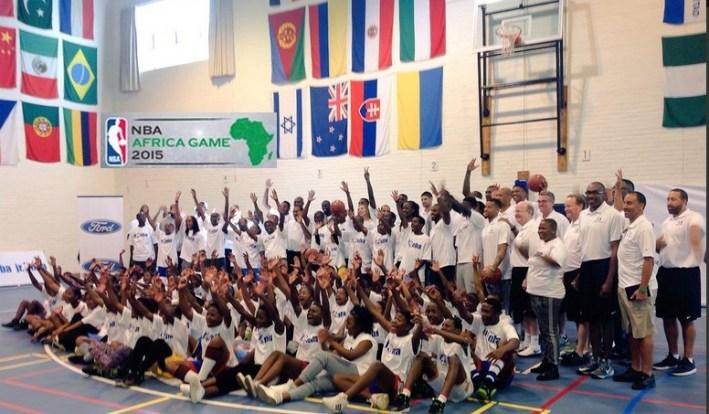 nba africa game les joueurs sont en afrique du sud