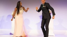 serena williams & novak djokovic enflamment la piste de danse