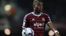 West Ham United's Diafra Sakho