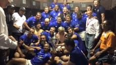 Welwitschias de la Namibie champion d'afrique de rugby 2015 groupe 1a