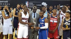 luol deng et chris paul co-mvp du nba africa game