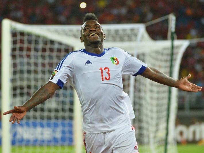 Bifouma Thievy ( Kongo ) Äquatorialguinea vs Kongo - CAN 2015 - 17/01/2015 PanoramicXPanoramic PUBLICATIONxNOTxINxFRAxITAxBELBIFOUMA THIEVY Kongo Equatorial Guinea vs Kongo CAN 2015 17 01 2015  PUBLICATIONxNOTxINxFRAxITAxBEL