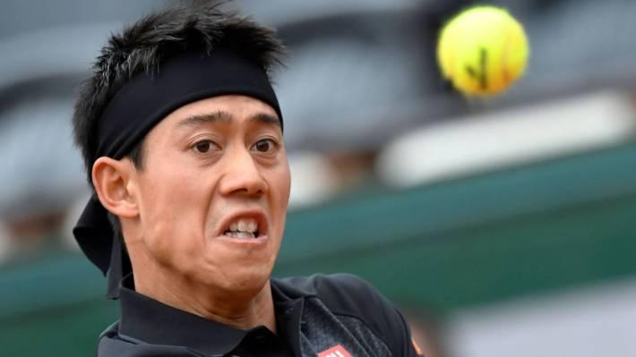 Kei Nishikori -Roland-Garros