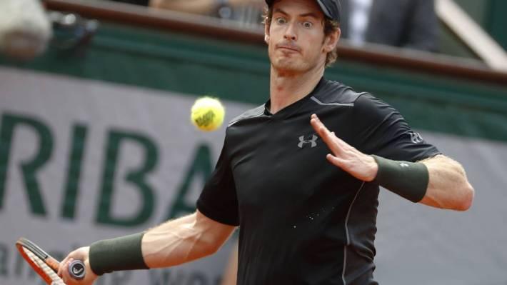 Roland-Garros -Andy Murray