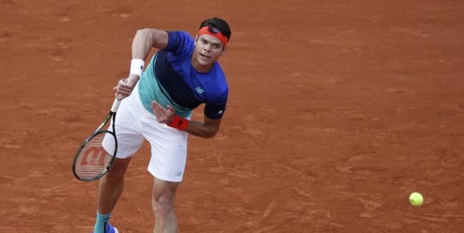 Roland-Garros -Raonic