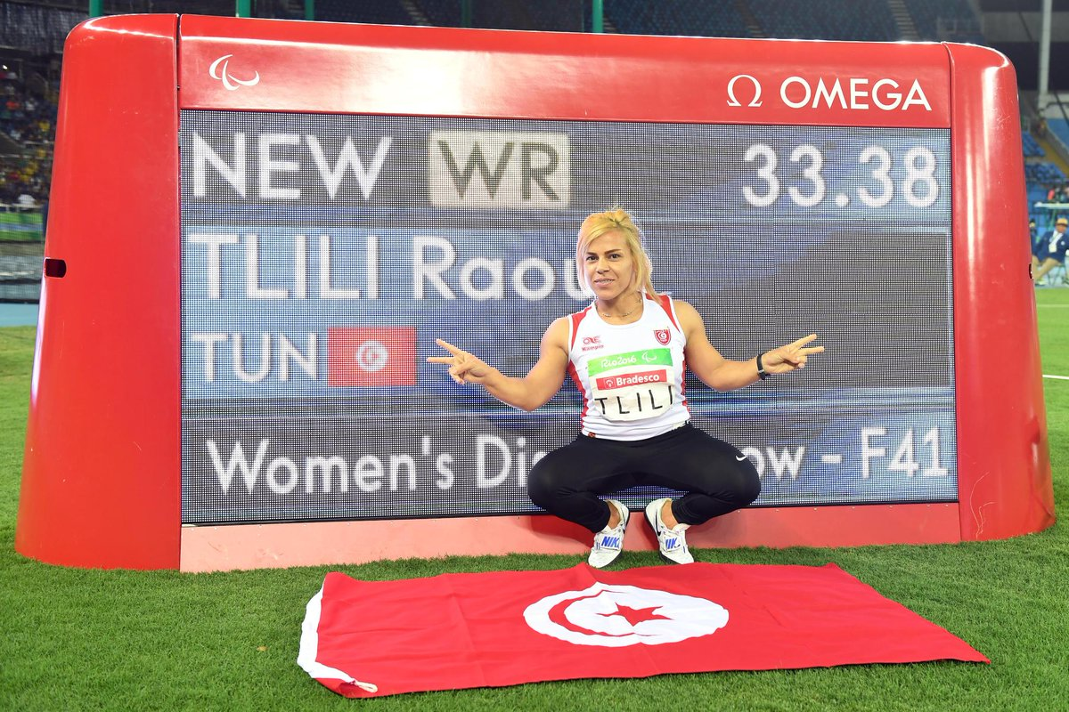 Paralympics 2016 : L'Or pour Nassima Saïfi, le bronze pour HAMOUMOU