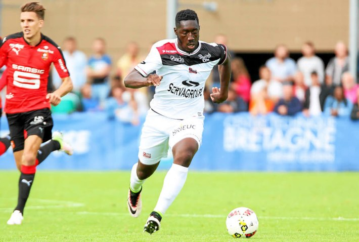 Football. EAG. Alexandre Mendy. Photo Lisa Tilly