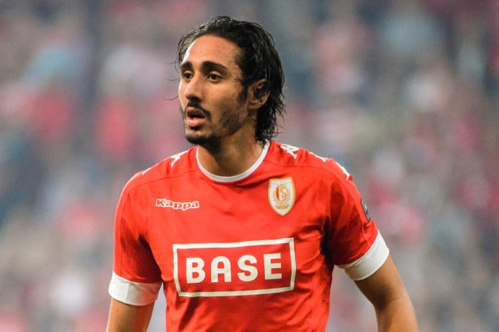 Standard's Ishak Belfodil pictured during the Jupiler Pro League match between Standard de Liege and RC Genk, Sunday 11 September 2016, on the sixth day of the Belgian soccer championship. Photo : Lambert / Belga / Icon Sport