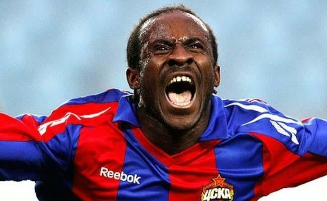 Seydou Doumbia Goal Celebration CSK Moscow