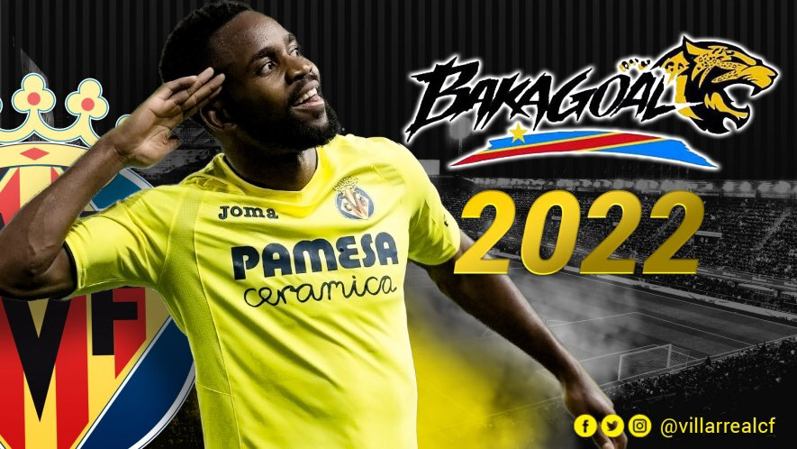 Bakambu prolongé jusqu'en 2022 — Villarreal