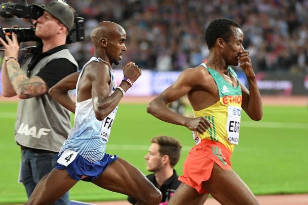 Mo Farah privé du titre mondial sur 5.000 m