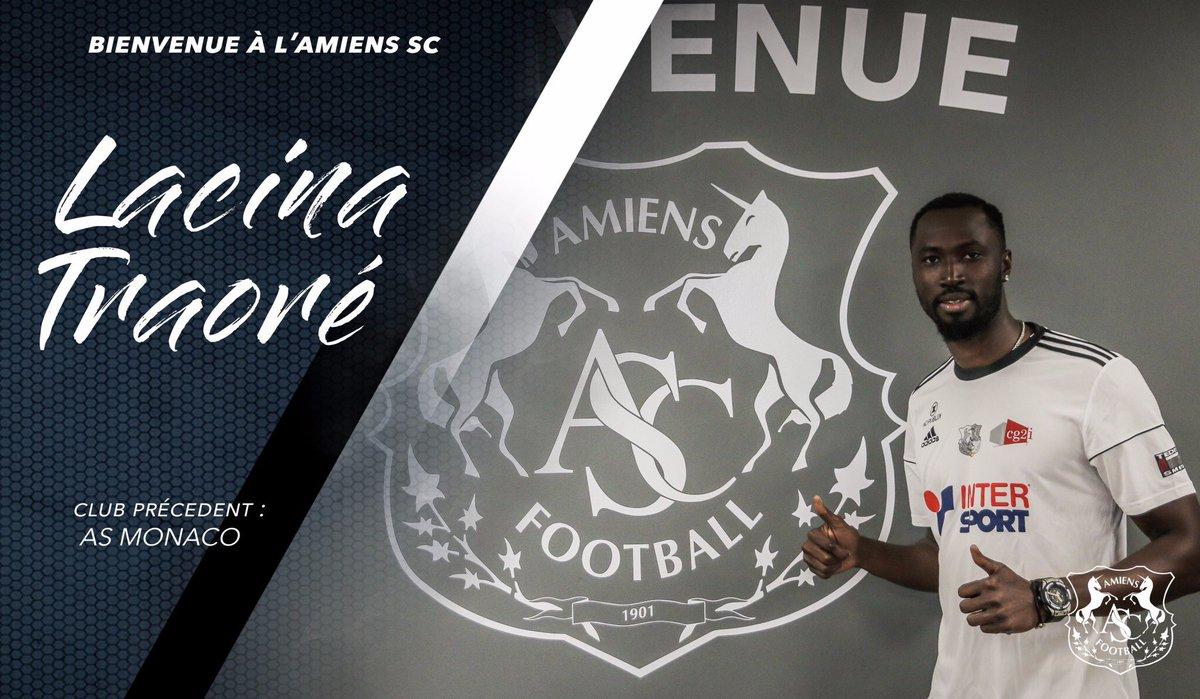 Lacina Traoré rejoint l'Amiens SC