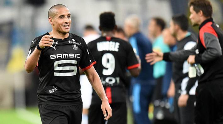 Fuflball, Olympique Marseille - Stade Rennes 08 Wahbi KHAZRI (ren) - JOIE FOOTBALL : Marseille vs Rennes - Ligue 1 Conforama - 10/09/2017 FEP/Panoramic.