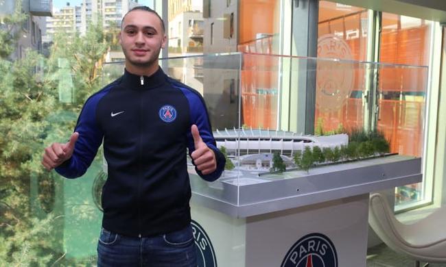 C'est signé pour le jeune Toufiqui — PSG