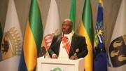 Ali Bongo Ondimba à son investiture