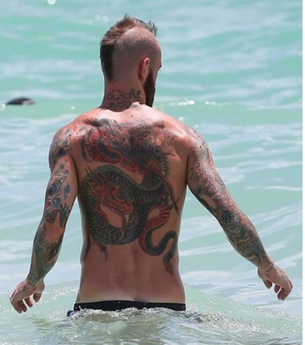 Discover In Photos; 10 Footballers With The Most Tattoos ...