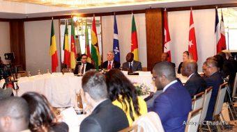 Canada-Cameroon: Signing ceremony of a  Memorandum of Understanding (MOU)