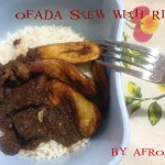 Ofada Stew or Designer Stew with Rice – 7th Day of Christmas