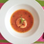 Shrimp Tomato Peppersoup