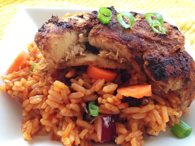 how to make jollof rice in the oven