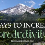 5 Ways to Increase Productivity
