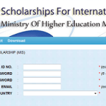 Government of Malaysia International Scholarships (MIS) at Malaysian Universities 2017/2018 – Fully-funded