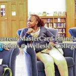 MasterCard Foundation Scholarships for Women at Wellesley College 2017/2018 – USA