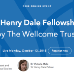 Sir Henry Dale Fellowship for Post-Doctoral Scientists 2016 – UK