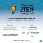 FRC Idea Challenge 2016 for Nigerian Undergraduates. Up to NGN500,000 in Prizes