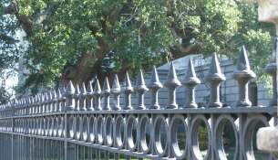 charleston iron fence