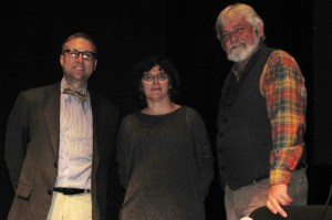 Hyde Park Debaters: Rick Anderson (Moderator), Maria Bonn, Derek Law