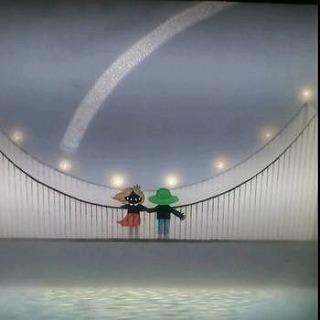 吊り橋はぼくのハープ(レフグラフ)⇒売却済み