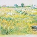 小島加奈子「nature sketchbook – My Countryside」 (水彩8号)⇒売却済み
