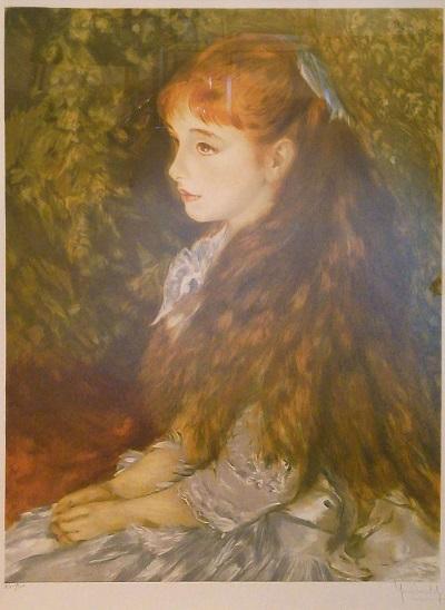 イレーヌ・カーン・ダンベール嬢の肖像