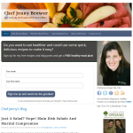 Chef Jenny Brewer - Healthy, delicious recipes and much more!